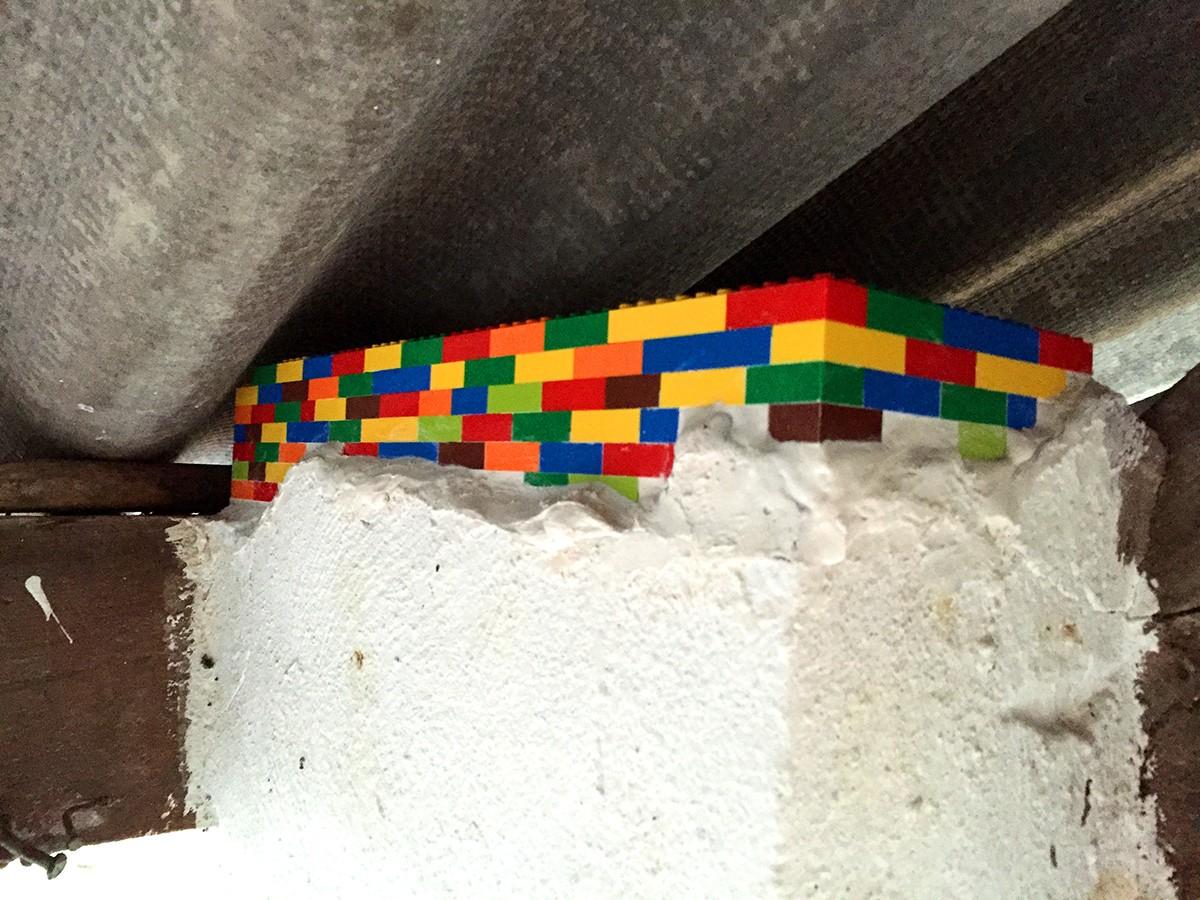 Mur en Lego
